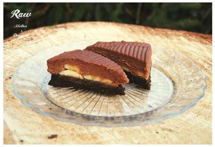 raw čokoládová torta s pohánkou