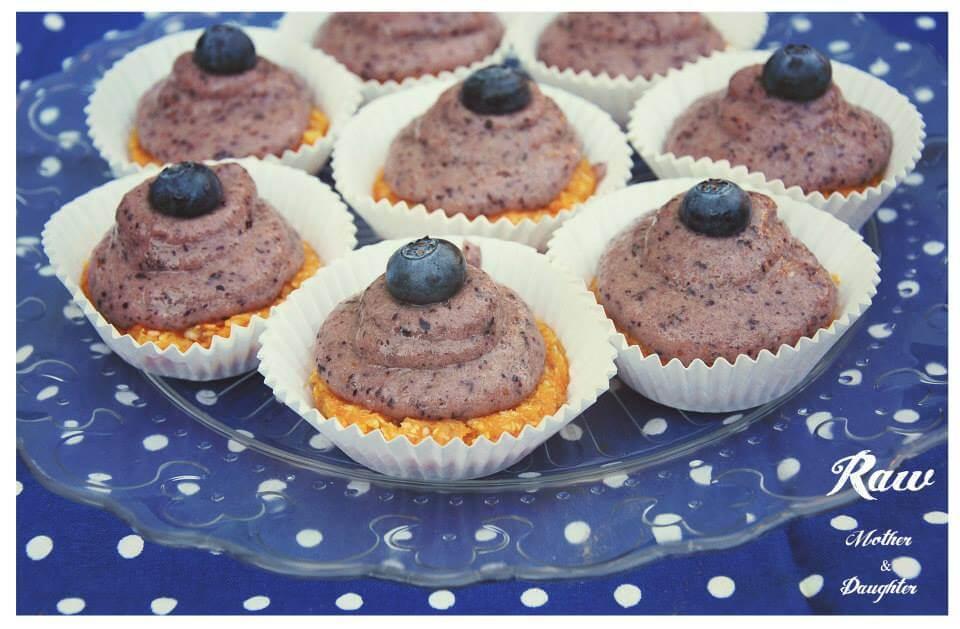 raw mrkvové muffiny