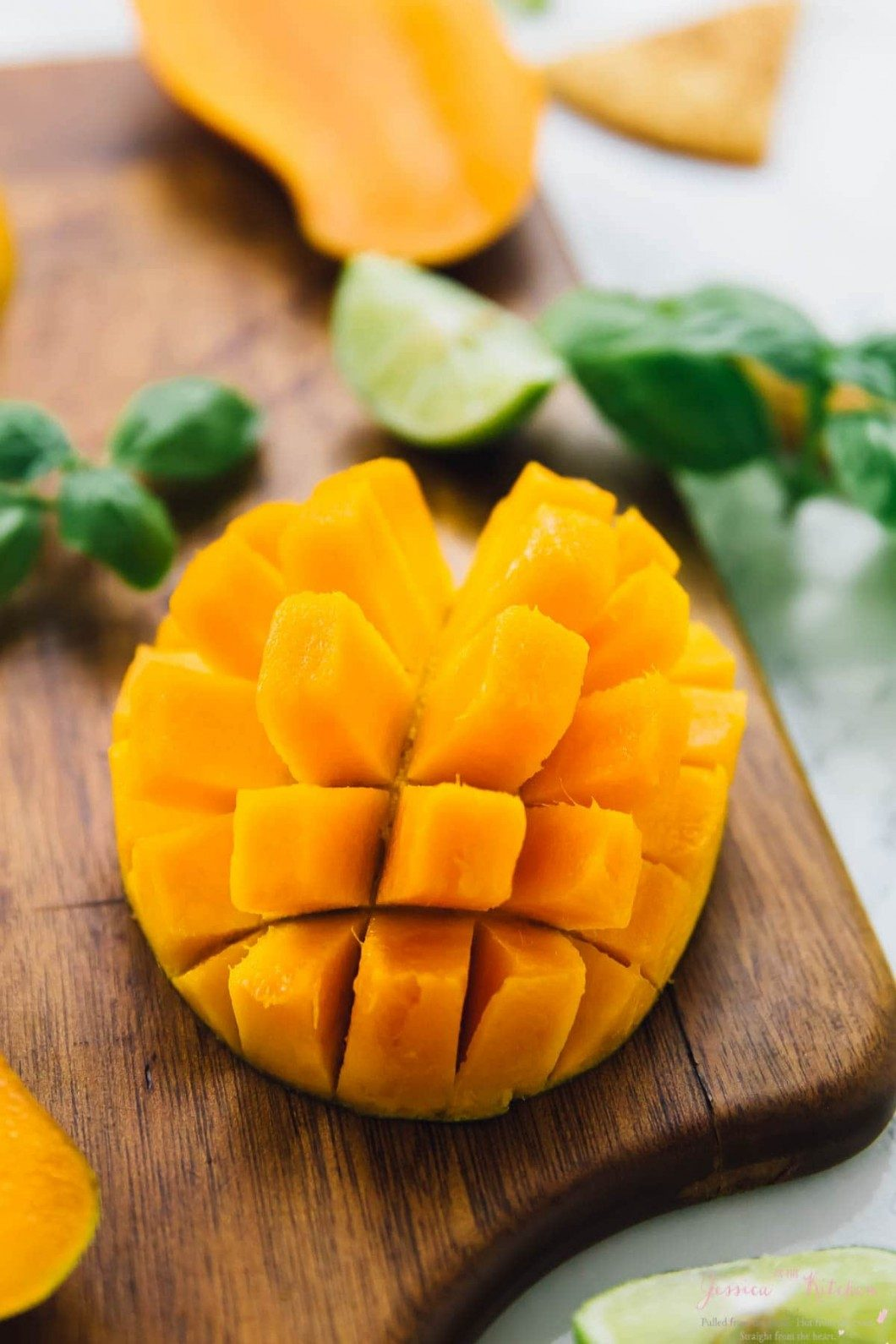 ako nakrájať mango