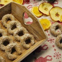 Raw vanilkové rožky