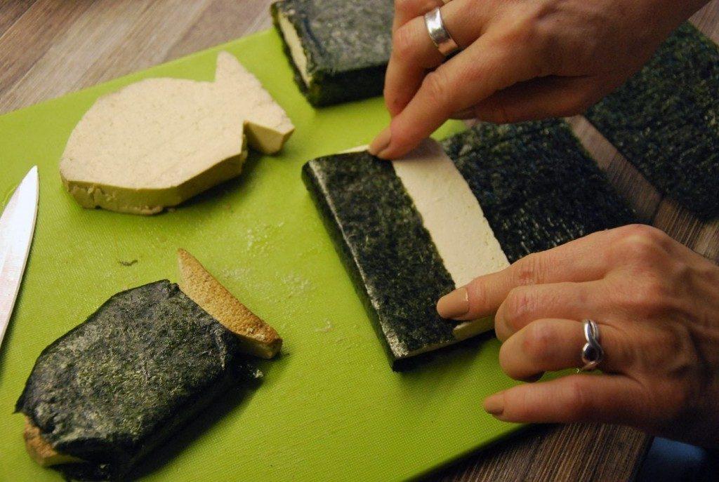 vianočný tofu kapor