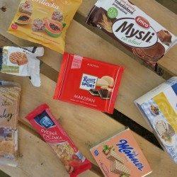 Náhodne vegan sladkosti zo supermarketu