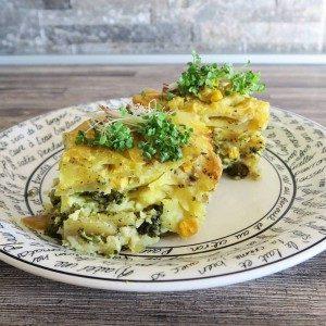 vegan zapekané zemiaky