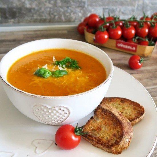 talianska rajčinová polievka