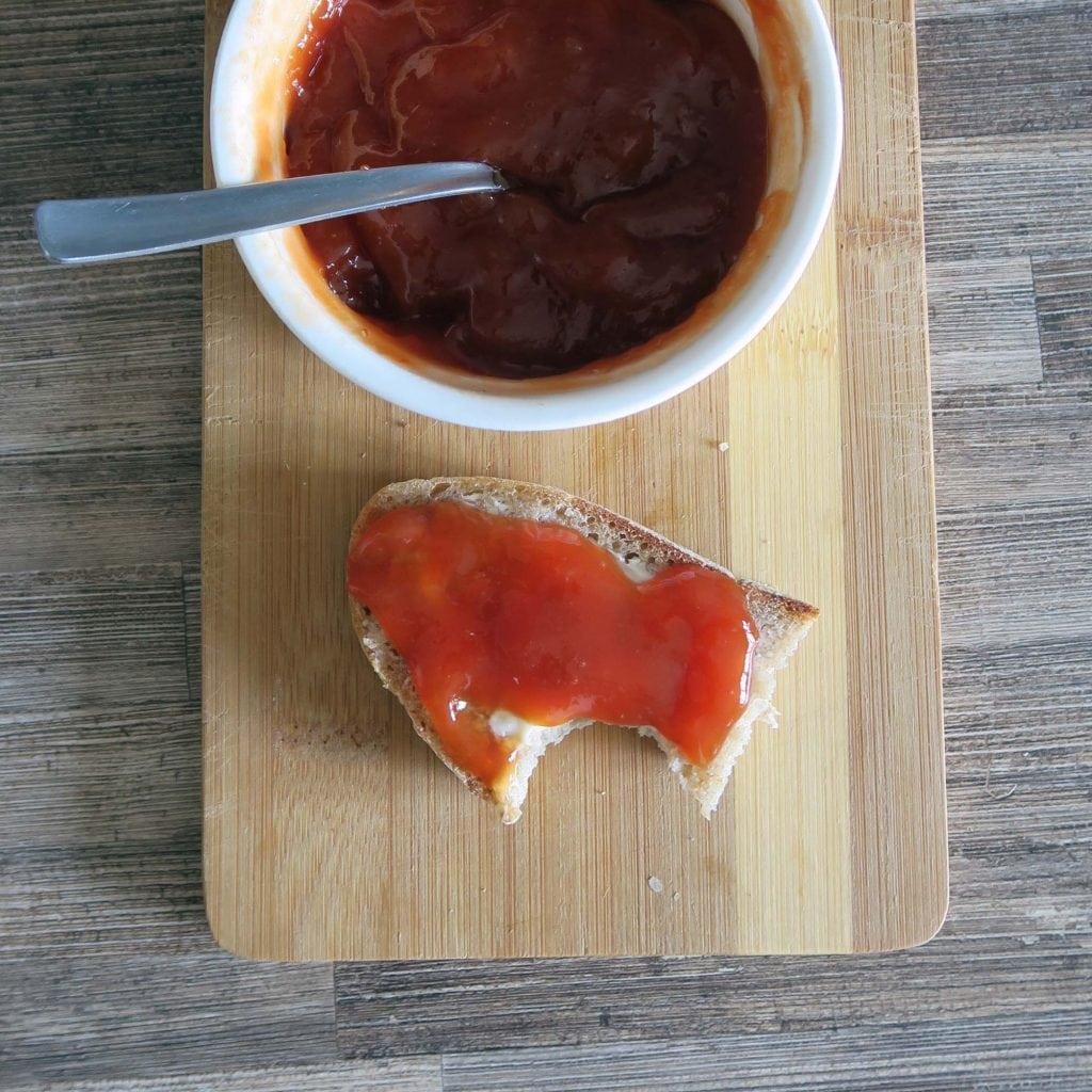 rajčinový džem