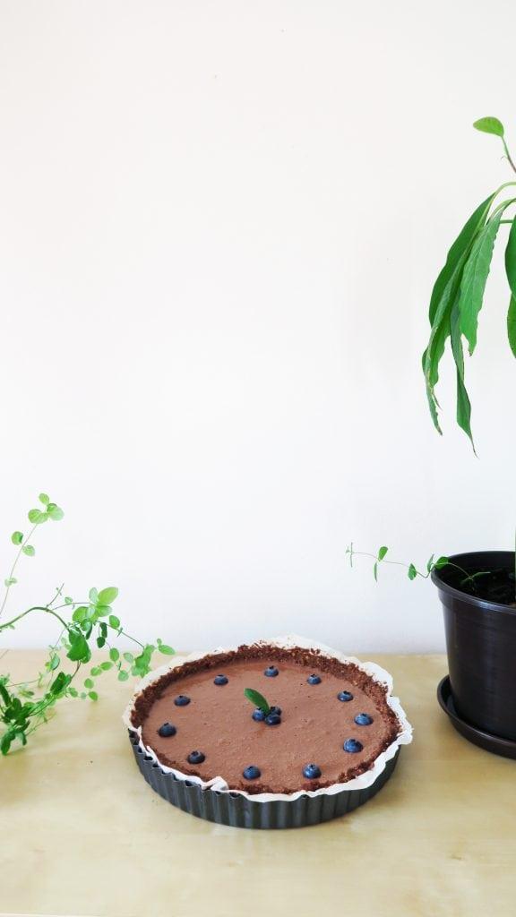čokoládový koláč z tofu