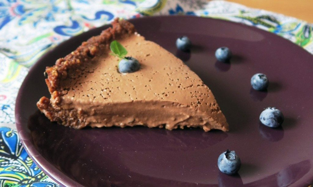 čokoládový koláž z tofu