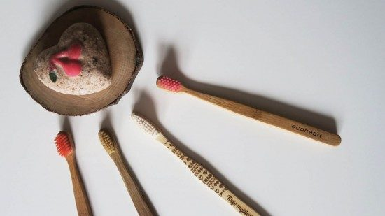 drevené zubné kefky
