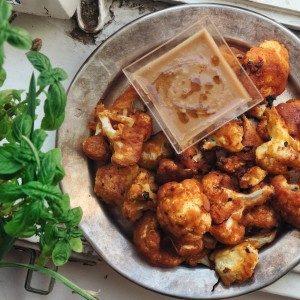 Pečený karfiol á la čili vegan kuracie krídelká