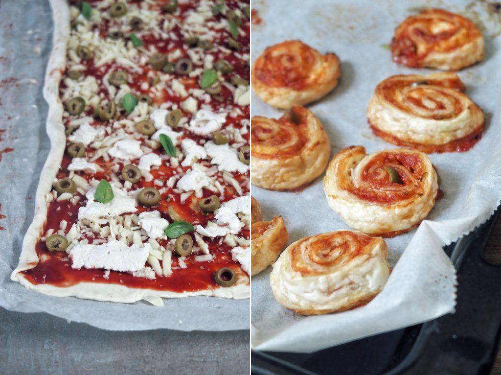 vegan pizza slimáky