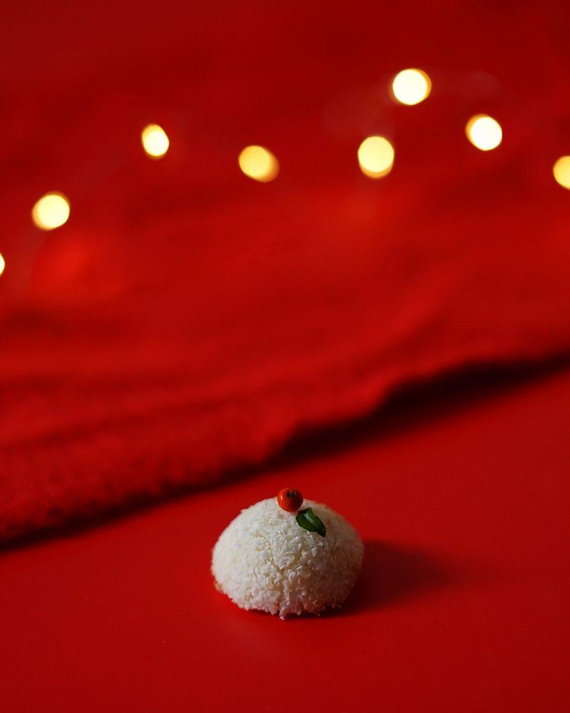 kokosové koláčiky snehové guľky