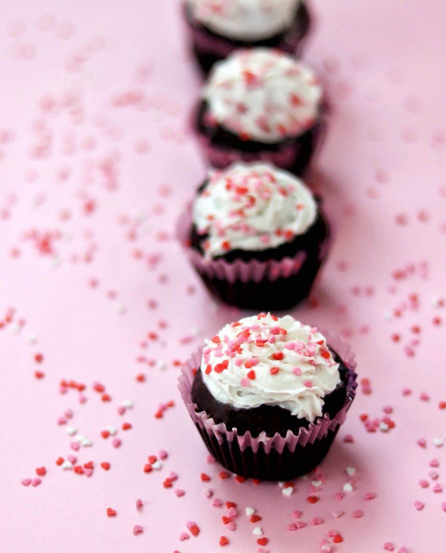 vegan čokoládové muffiny