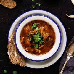 Vegan držková polievka