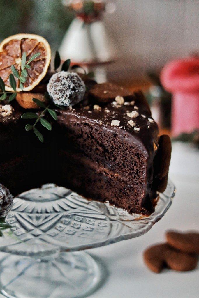 vegan sacherova torta