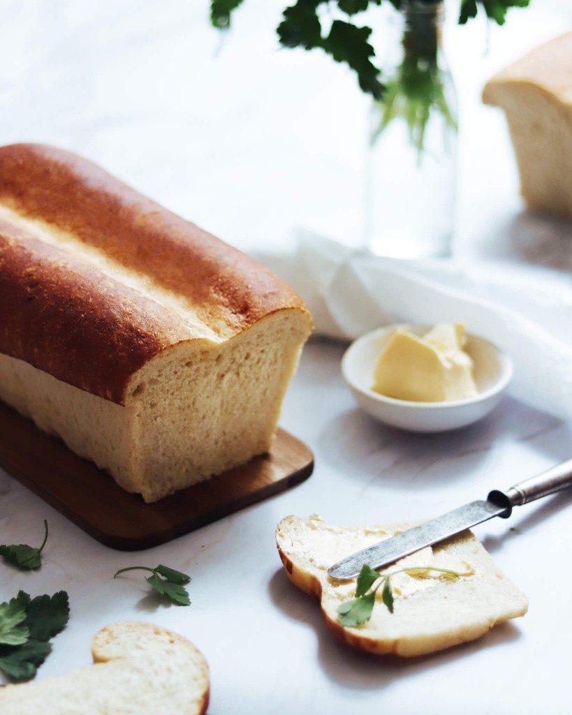 toastový chlieb bez masla