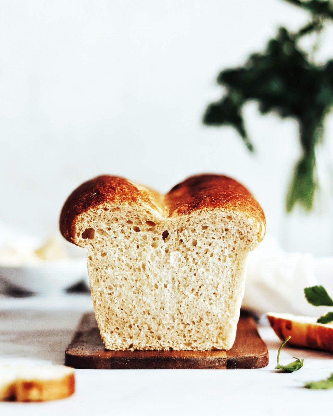 vegan toastový chlieb
