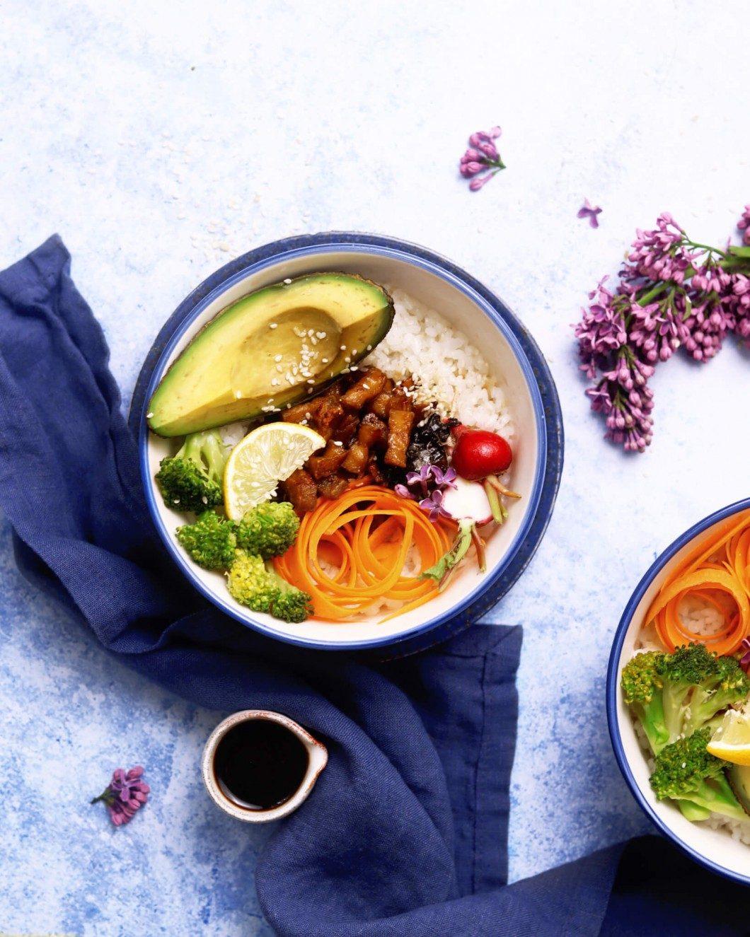 sushi bowl s tofu
