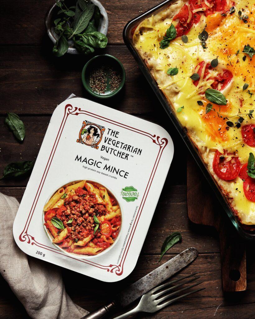 magic mince lasagne the vegetarian butcher