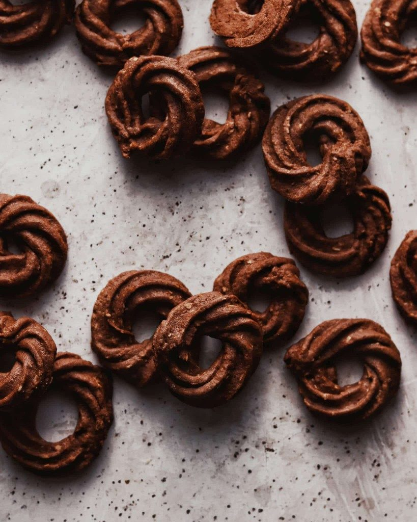 kakaové venčeky