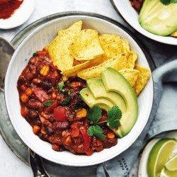 Vegan Chilli sin carne - Mexické čili bez mäsa