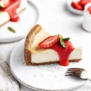 Vegan cheesecake z tofu