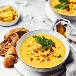 Kukuričná polievka s čili