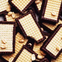 Vegan horalky  - domáce horalky v čokoláde